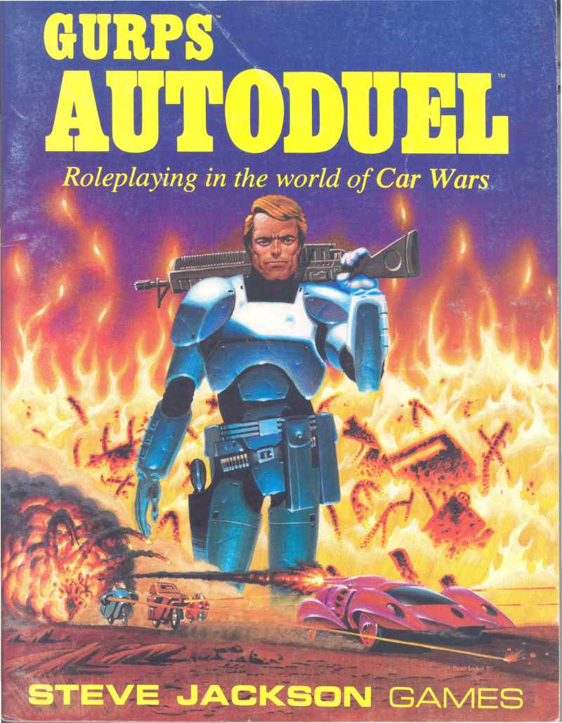 GURPS Autoduel, First Edition