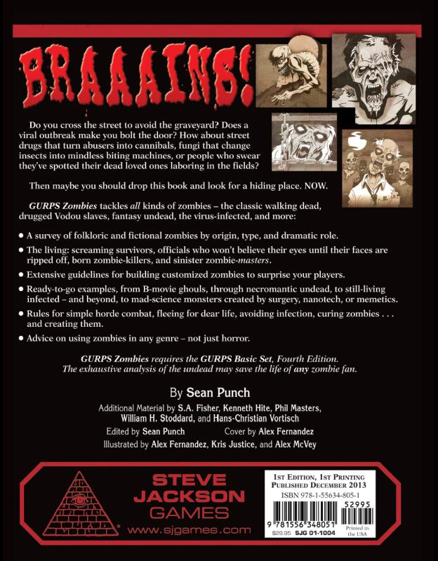 GURPS Zombies (Back)