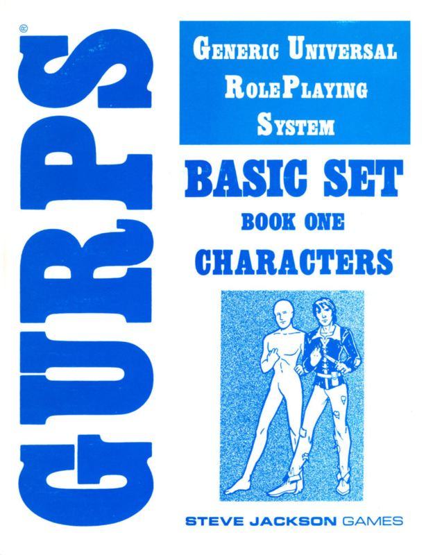 GURPS Basic Set, First Edition (Back)