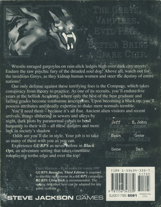 GURPS Black Ops (Back)