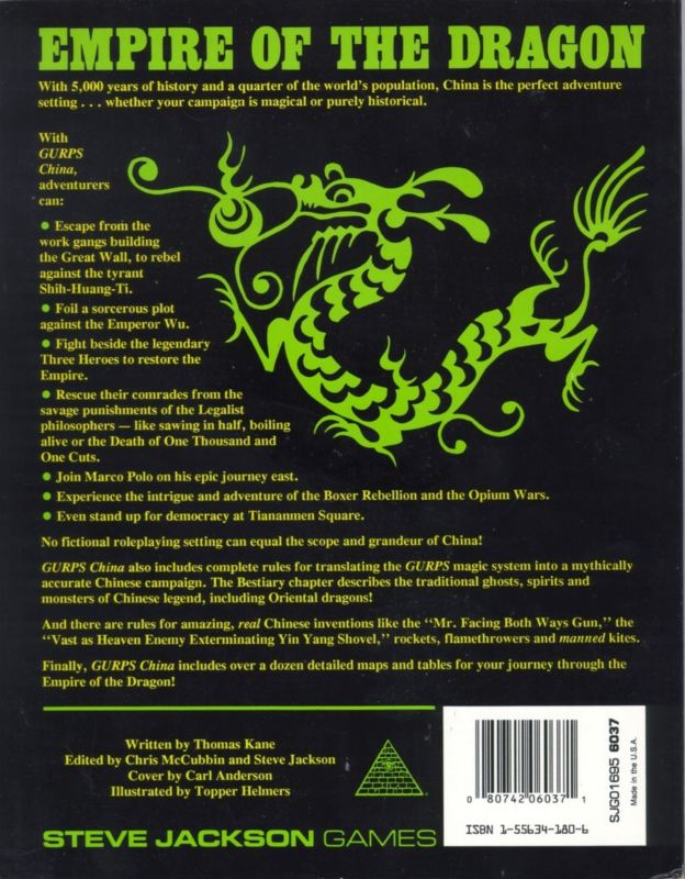 GURPS China (Back)