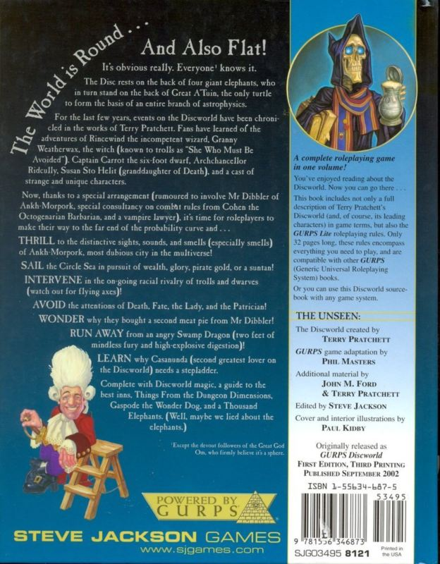 GURPS Discworld (Back)