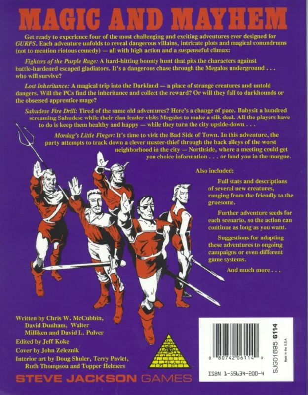 GURPS Fantasy Adventures (Back)