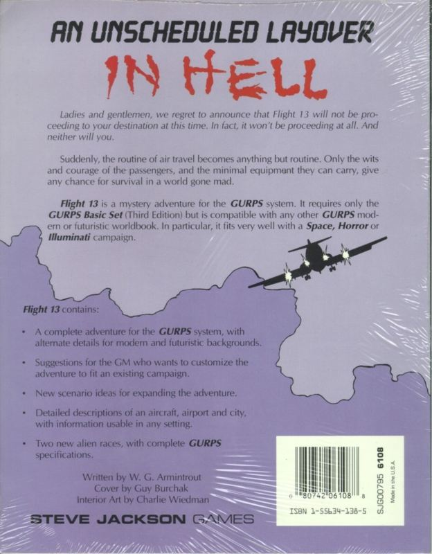 GURPS Flight 13 (Back)