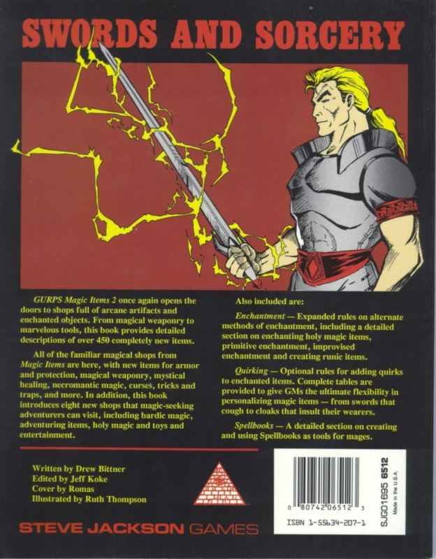 GURPS Magic Items 2 (Back)