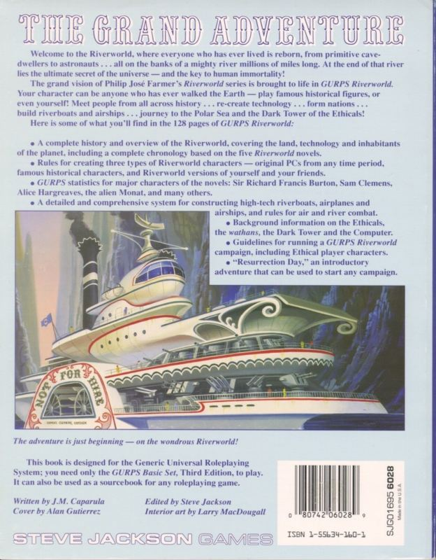 GURPS Riverworld (Back)