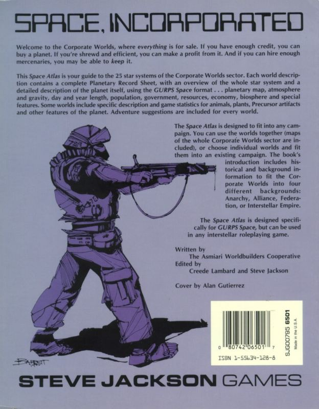GURPS Space Atlas 2 (Back)