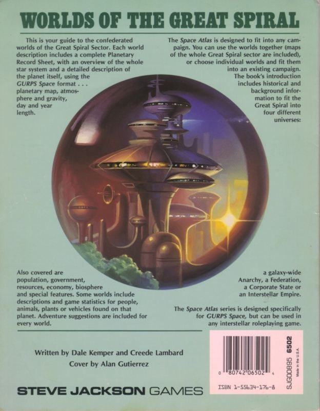 GURPS Space Atlas 3 (Back)