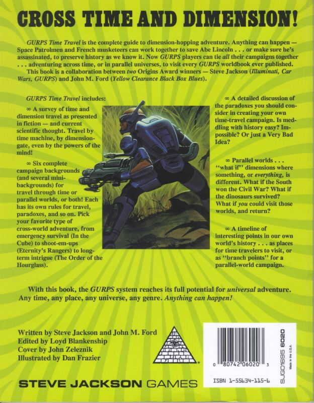 GURPS Time Travel (Back)