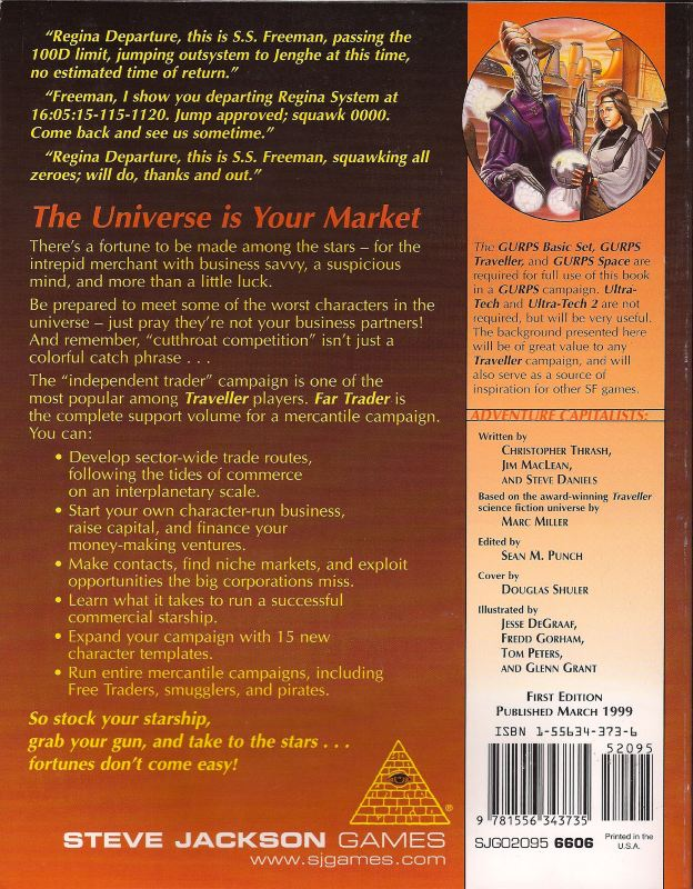 GURPS Traveller: Far Trader (Back)