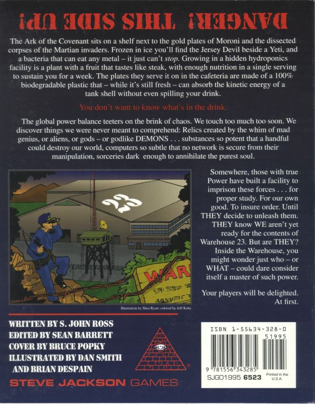 GURPS Warehouse 23 (Back)