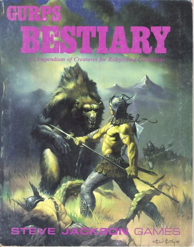 GURPS Bestiary, First Edition