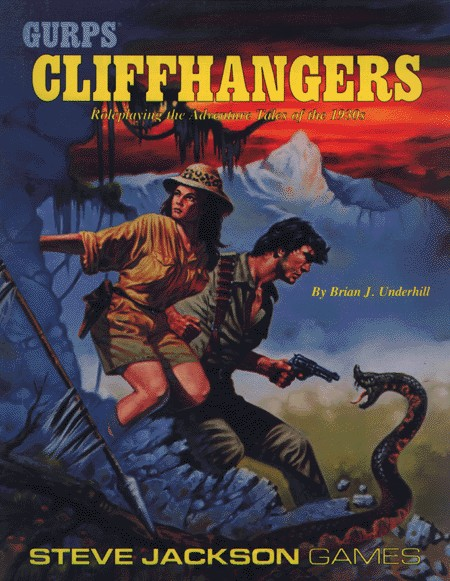 GURPS Cliffhangers, First Edition