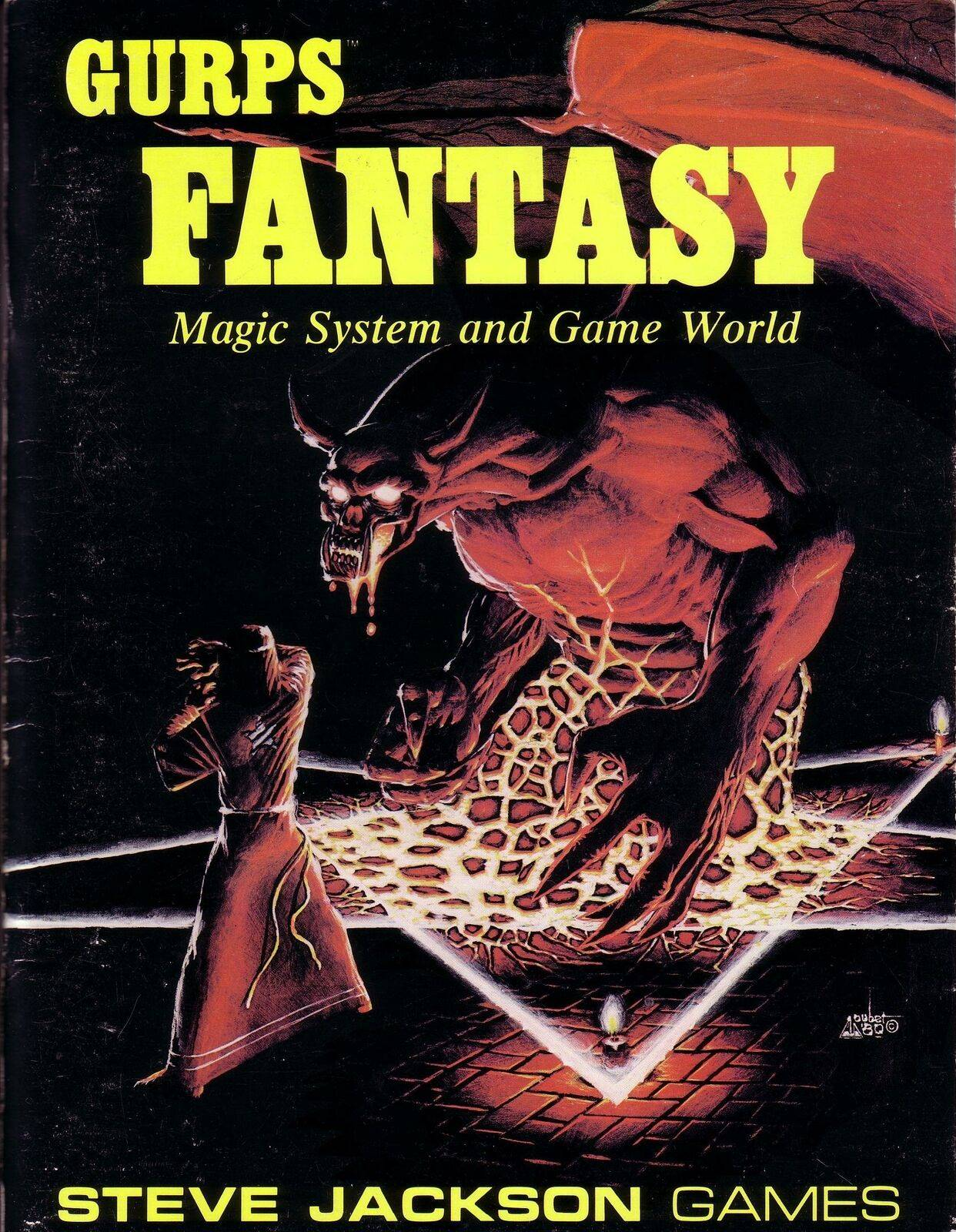 GURPS Fantasy, First Edition