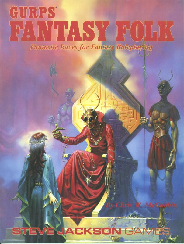 GURPS Fantasy Folk, First Edition