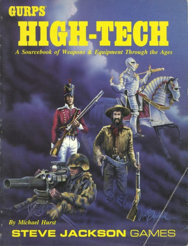 GURPS High-Tech, First Edition