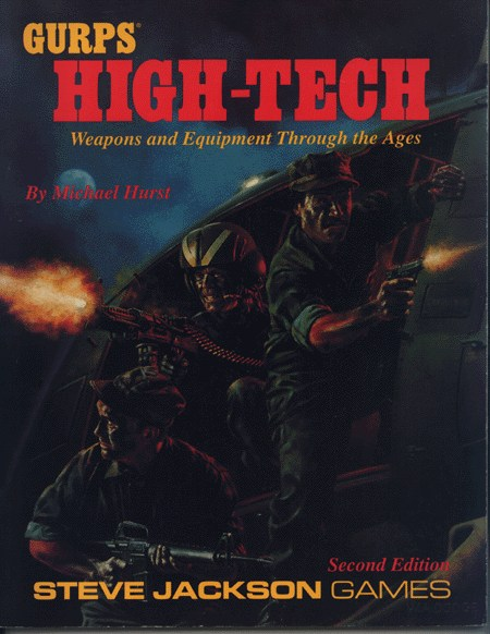 GURPS High-Tech, Second Edition