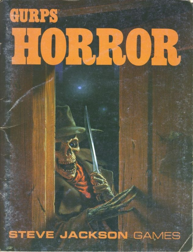 GURPS Horror, First Edition