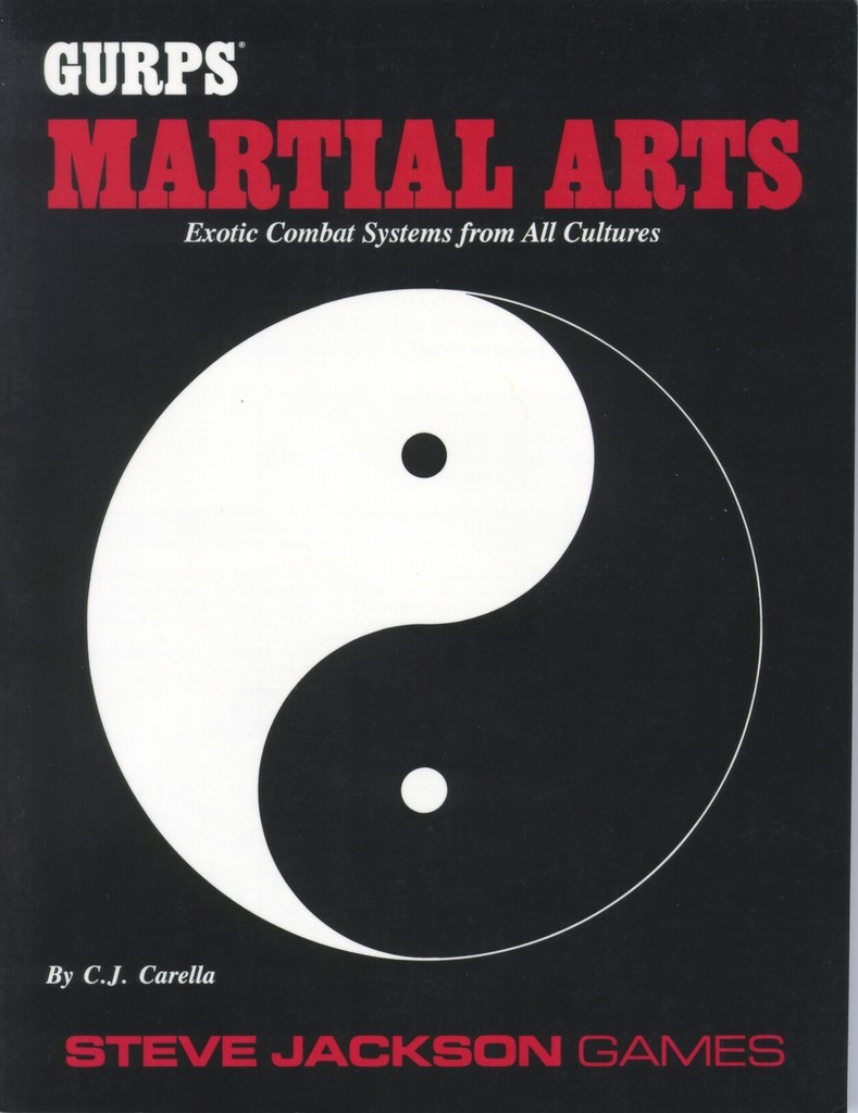 GURPS Martial Arts, First Edition