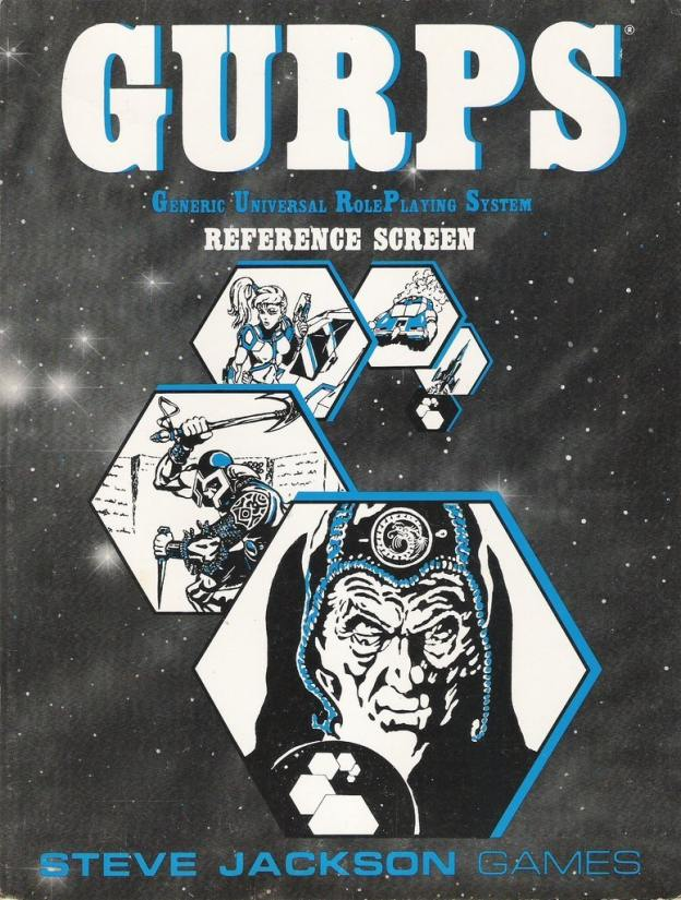 GURPS Reference Screen
