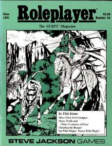 Roleplayer #24 - June 1991