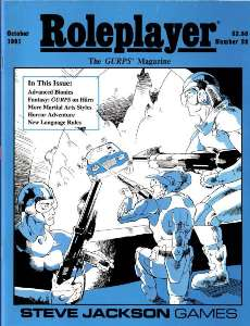 Roleplayer #26 - October 1991