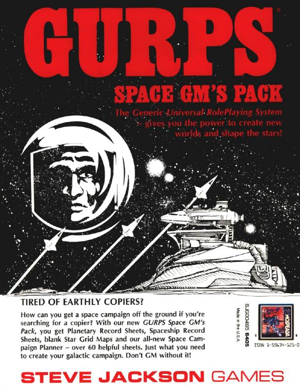 GURPS Space GM's Pack