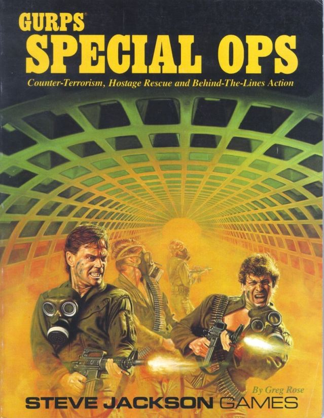 GURPS Special Ops, First Edition
