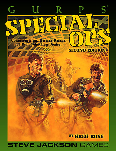 GURPS Special Ops, Second Edition