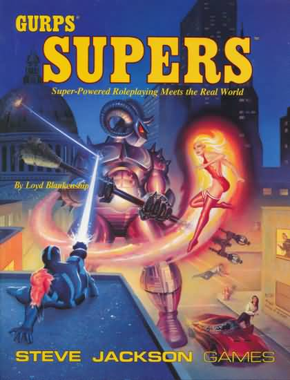 GURPS Supers, First Edition