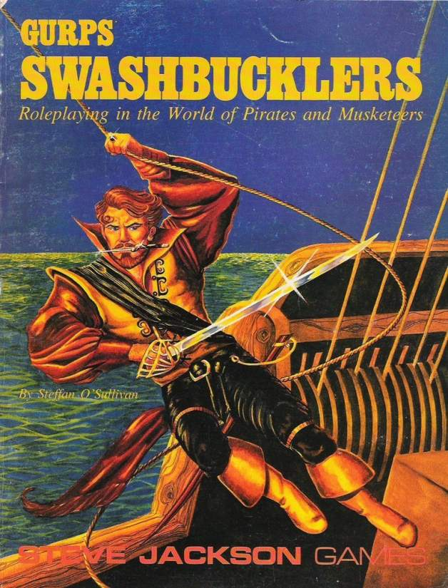 GURPS Swashbucklers, First Edition