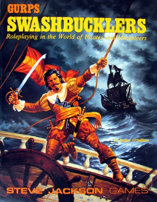 GURPS Swashbucklers, Second Edition