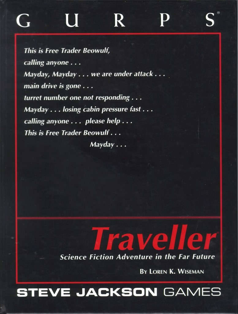 GURPS Traveller, First Edition