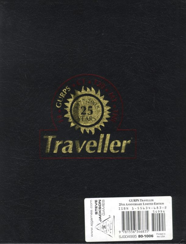 GURPS Traveller, Second Edition Limited Edition
