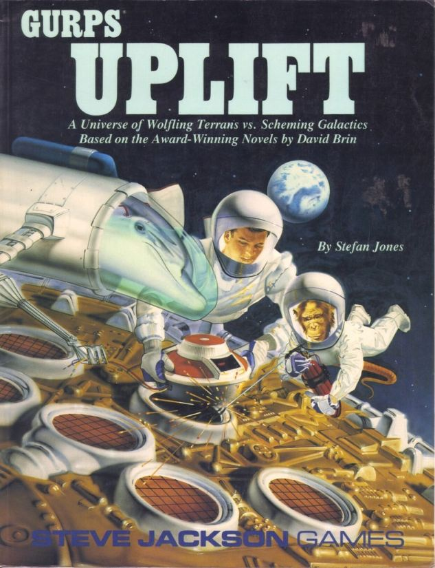 GURPS Uplift, First Edition