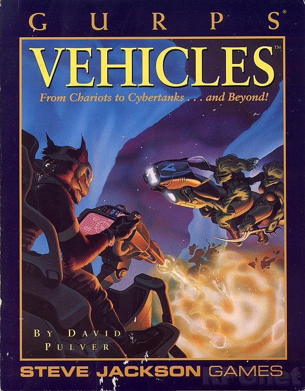 GURPS Vehicles, First Edition